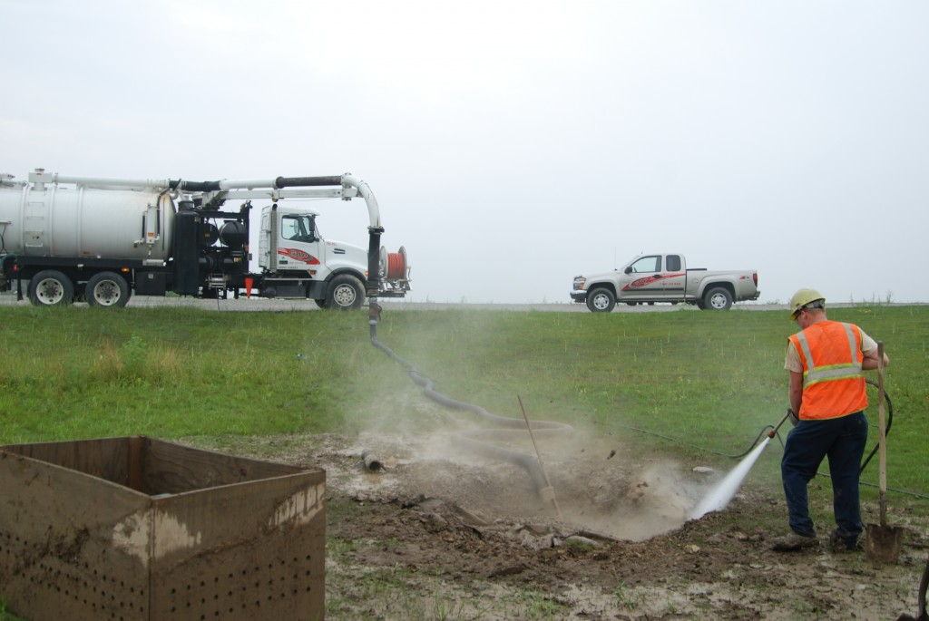 GAP, Inc. hydroexcavating