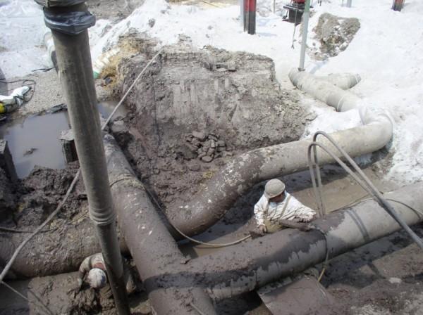 Hydro excavat
